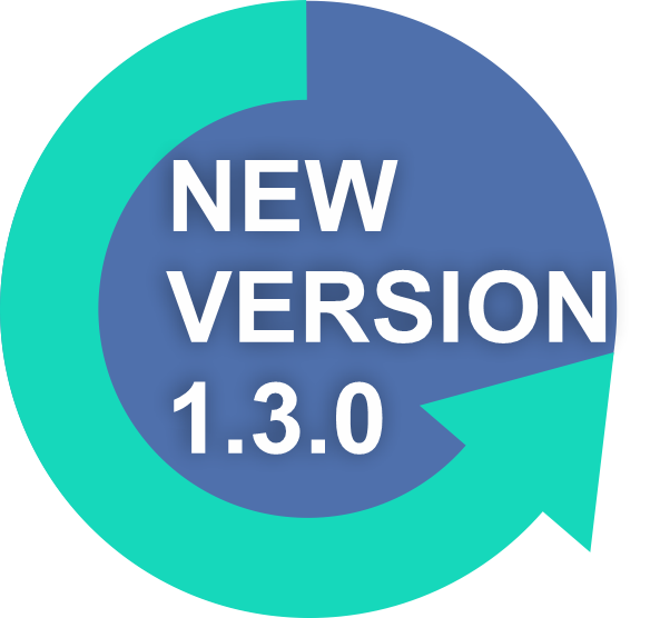 new version 1.3.0